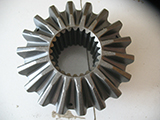 Half shaft gear